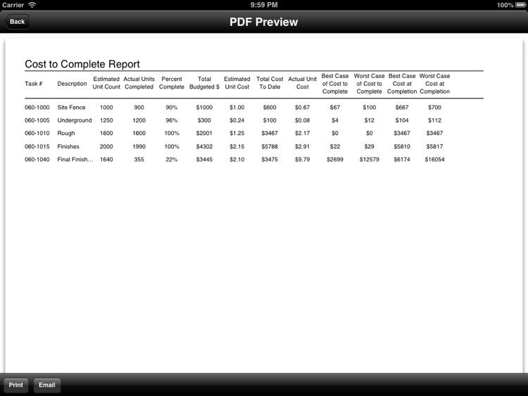 Cost to Complete Calculator screenshot-4