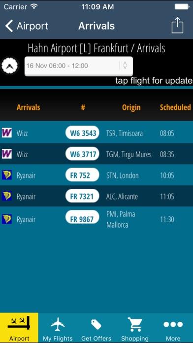 Frankfurt Hahn Airport Pro (HHN) + Flight Tracker