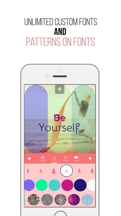 Picturesque Free - Filters Overlays Texts Quotes Over Photos Themes & Cool Gradients 9