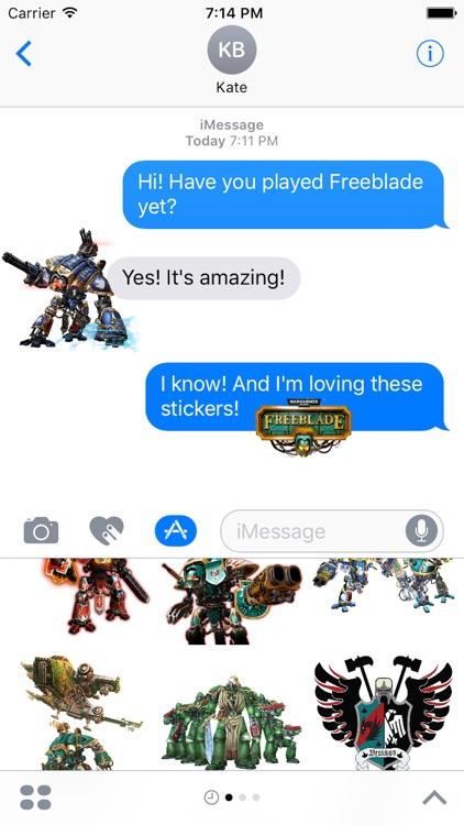 Warhammer 40,000: Freeblade - Sticker Pack