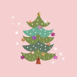 X-mas Glitter Sticker