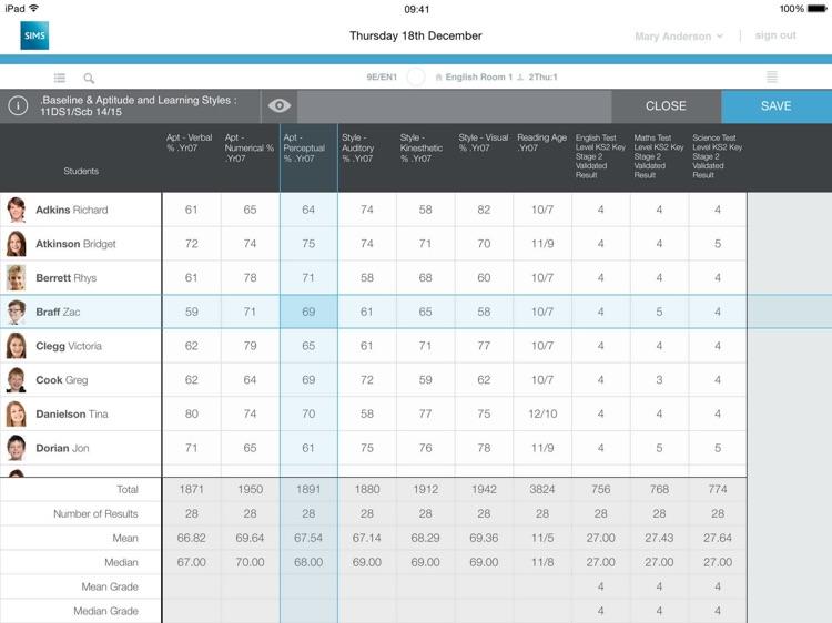 SIMS Teacher screenshot-3