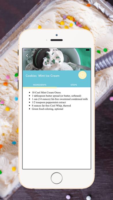 Homemade Ice Cream Recipes screenshot four