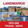 Landmarks (World Famous) – Mini Offline Maps