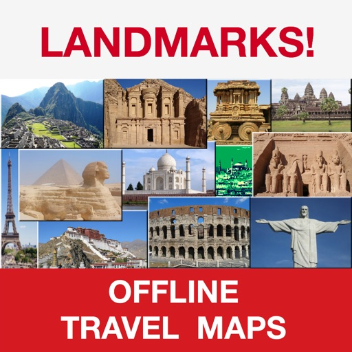 Landmarks (World Famous) – Mini Offline Maps