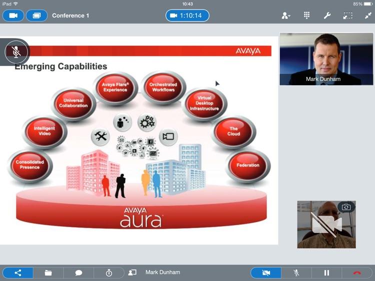 Avaya Communicator® for iPad screenshot-4
