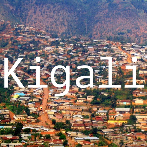 hiKigali: Offline Map of Kigali (Rwanda)