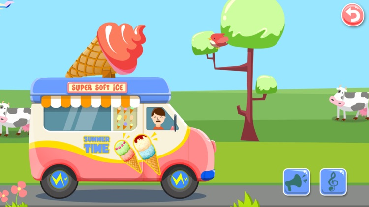 Ice Cream Truck:(Mandarin) Educational Puzzle Game screenshot-3