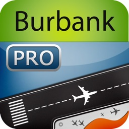 Burbank Airport Pro (BUR) + Flight Tracker