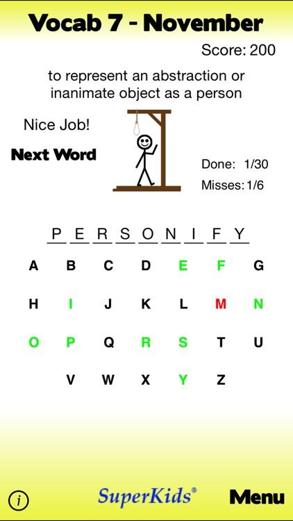 7th Grade Vocabulary