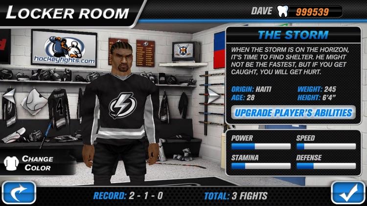 Hockey Fight Lite screenshot-3