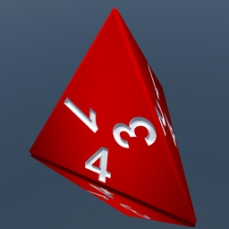 RPG D4 Role-Player Dice for iMessage