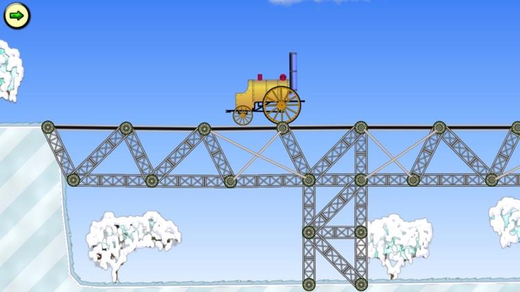 Railway bridge - Bridge construction simulator