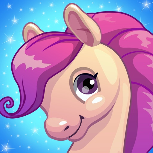 Cute Ponies & Unicorns : Free Matching Games