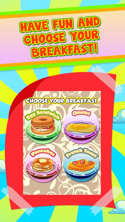 Breakfast Food Maker Kids Games (Girls & Boys) screenshot-4