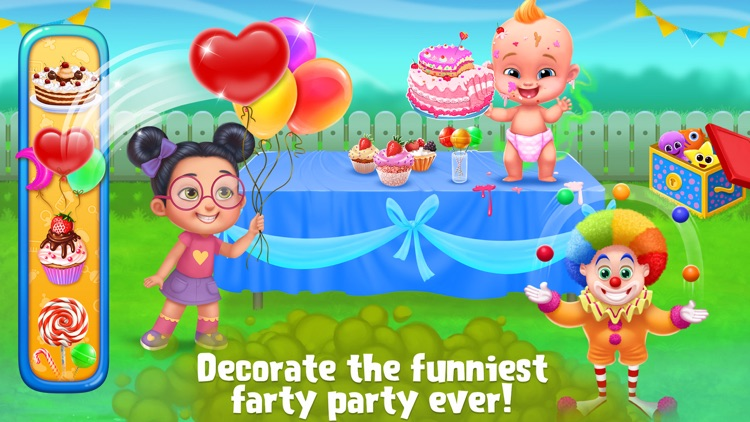 Smelly Baby - Farty Party screenshot-1