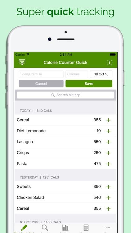 Calorie Counter Quick