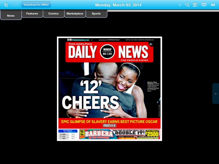 The Philadelphia Daily News Replica