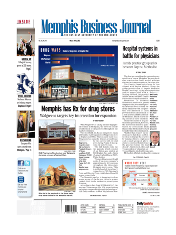 Screenshot of Memphis Business Journal