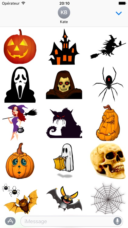 Halloween • 140 stickers for iMessage