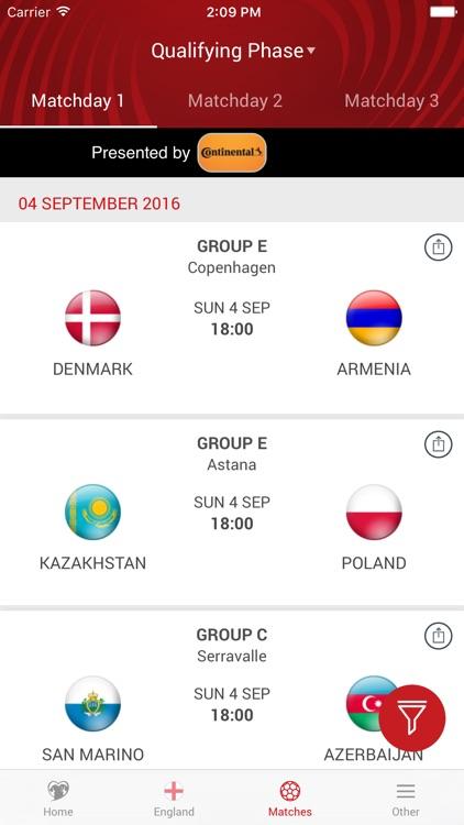 UEFA European Qualifiers screenshot-4