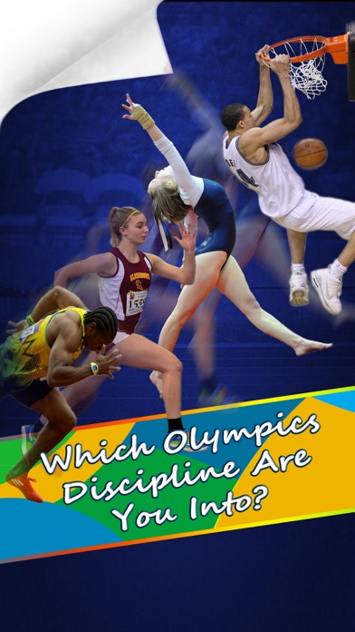 Which Olympics Discipline Are You Into? - Personality Test for Rio 2016 screenshot one