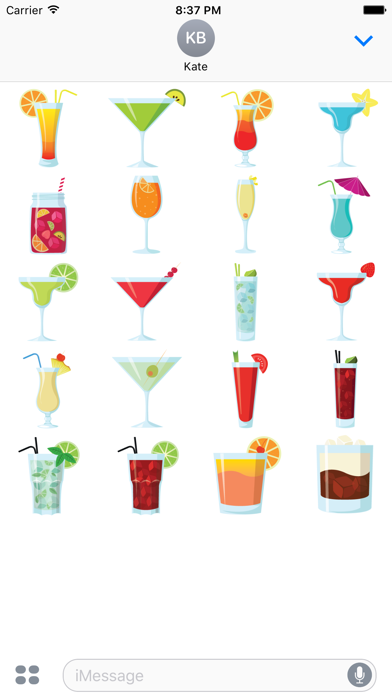 Party Cocktails screenshot one
