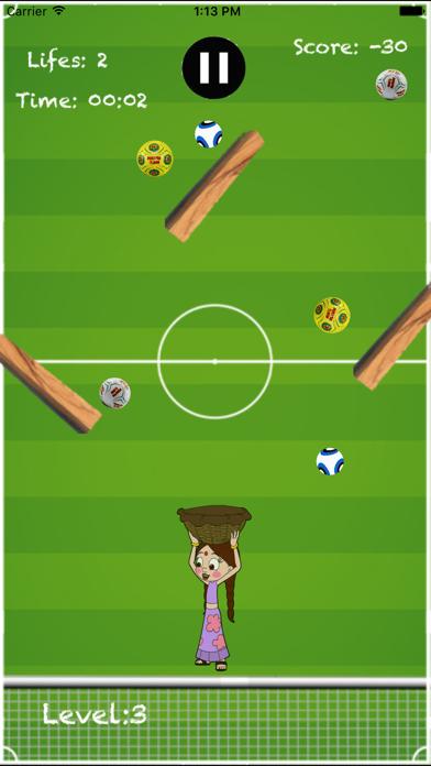Chhota Bheem & Mighty Raju-Catch the Football Game screenshot two