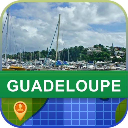 Offline Guadeloupe Map - World Offline Maps icon
