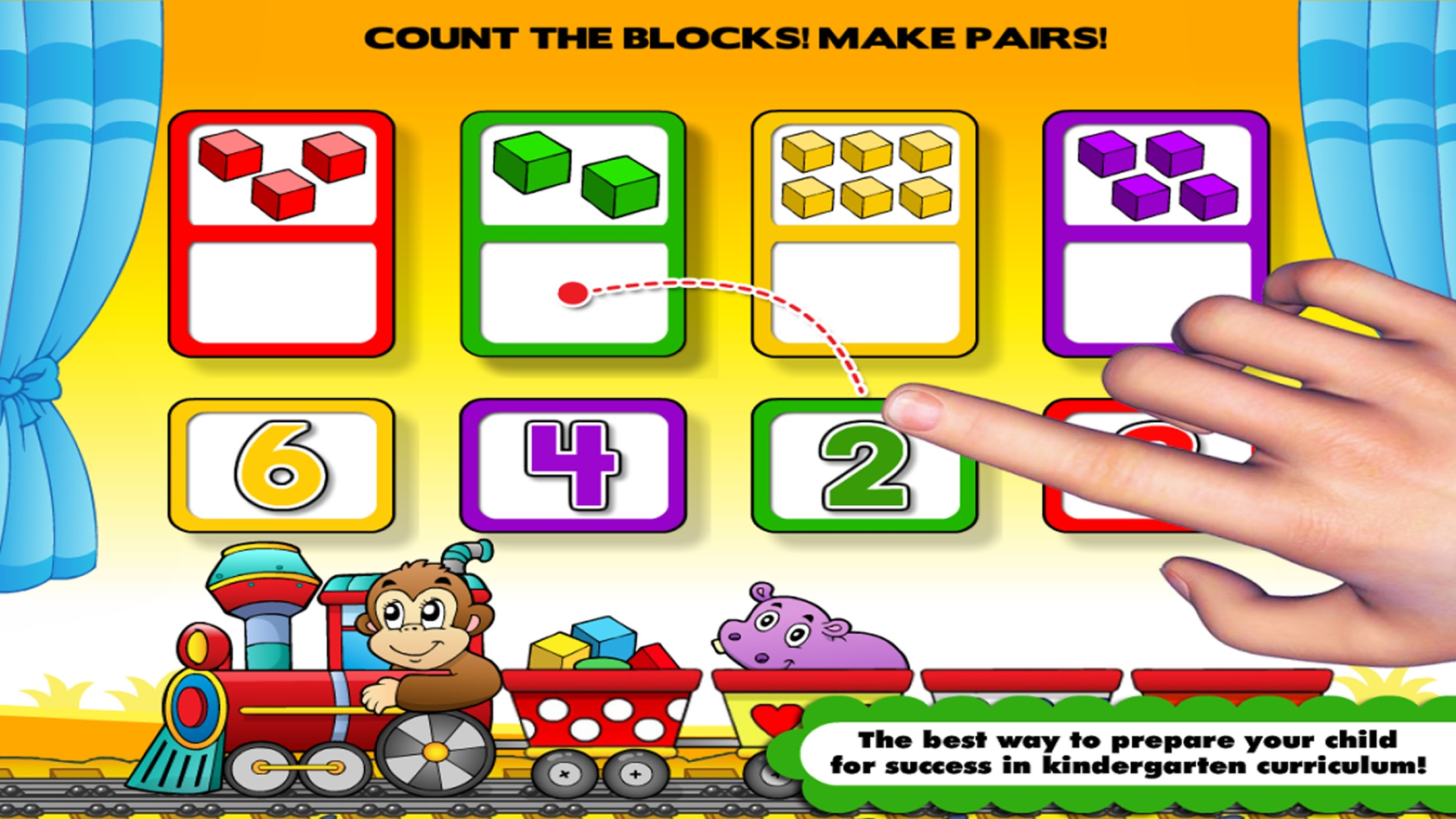 Shapes & Colors Learning Games for Toddlers / Kids Screenshot