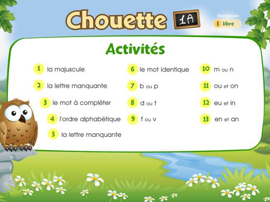 Chouette 1A screenshot two