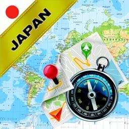 Japan - Offline Map & GPS Navigator