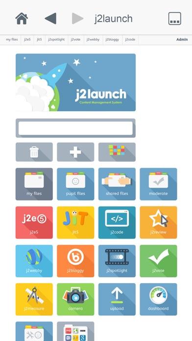 j2launch screenshot one