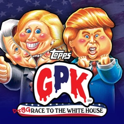 Garbage Pail Kids GPK Election Stickers
