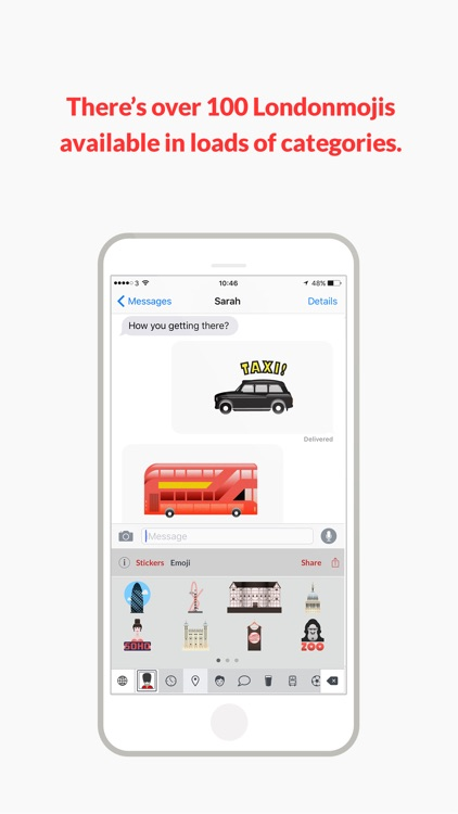 Londonmoji - London emoji-stickers!