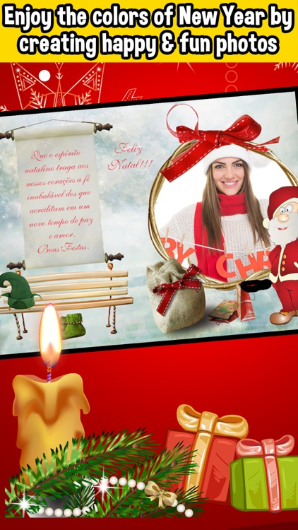 Christmas Wishes Frames & Collage