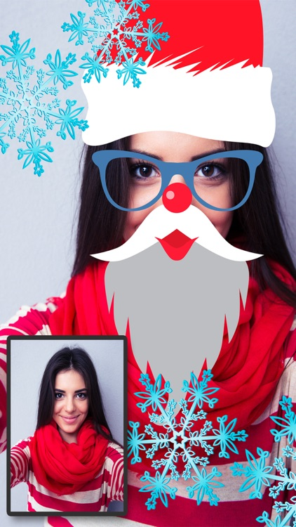 Snap Christmas Funny Face Filters – Photo Editor by Landay Apps