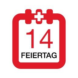 Feiertage Schweiz Kalender & Kalenderwochen