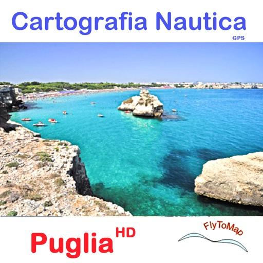 Marine: Puglia HD - GPS Map Navigator