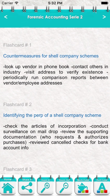 Forensic Accounting Exam 3700 Quiz Study Notes screenshot-3