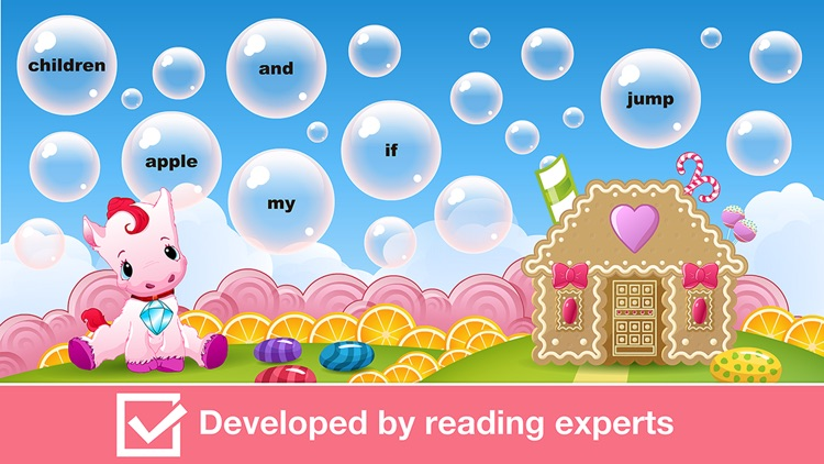 Sight Words Games in Candy Land - Reading for kids screenshot-3