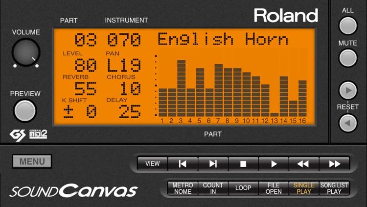 SOUND Canvas screenshot-0