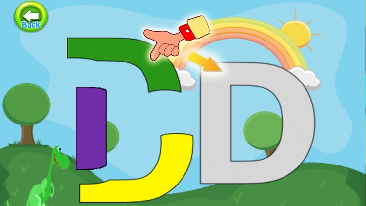 Endless Tracing Letters ABCD Family screenshot-4