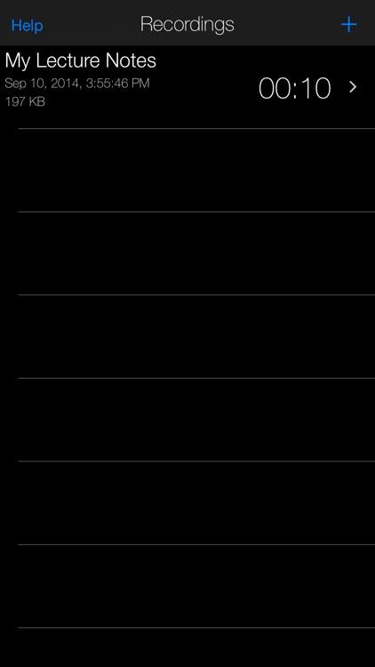 Dictaphone Voice Recorder screenshot-3