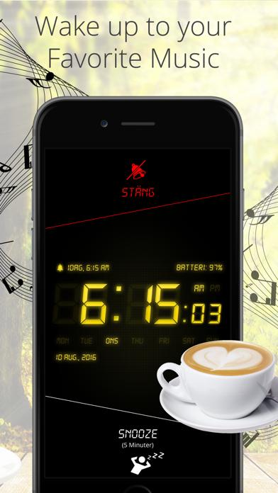 Väckarklocka Mate Pro - Insomningstimer med musik på PC