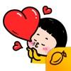 携帯少女, ミム (MiM) - Mango Sticker