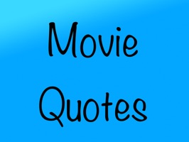 MovieQs provides simple text stickers with quotes from films