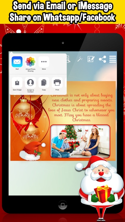 Christmas Wishes Frames & Collage screenshot-4
