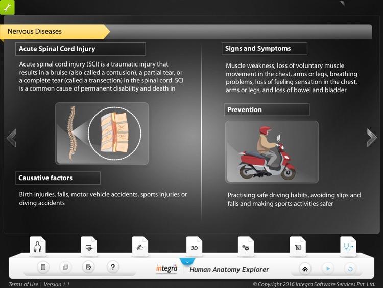 Human anatomy explorer Nervous System screenshot-3