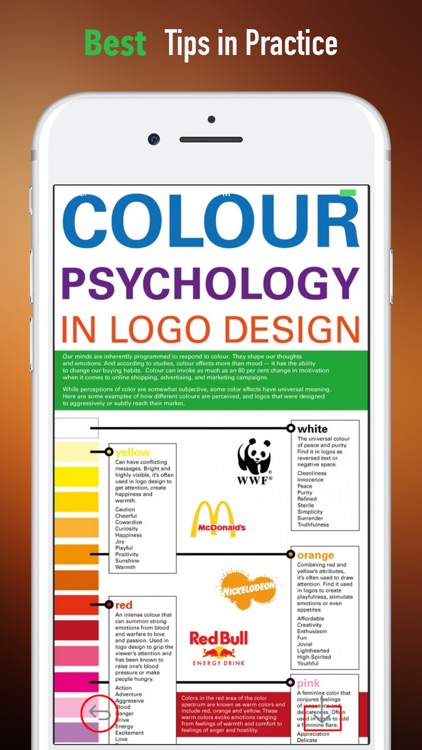 Colors Psychology Guide-Basics and Tutorial Tips screenshot-3